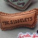 FEUTRINE BADGE : Siddeleys (the)