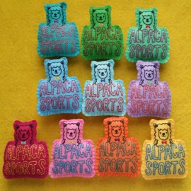 FEUTRINE BADGE : Alpaca Sports