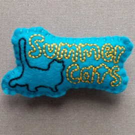 FEUTRINE BADGE : Sumer Cats