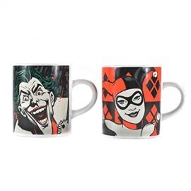 BATMAN MINI MUGx2 Joker & Harley Quinn