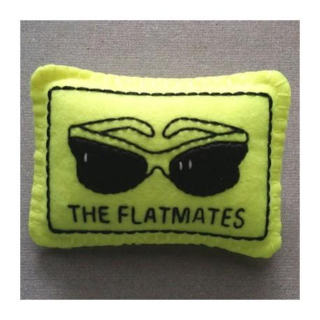 FEUTRINE BADGE : The Flatmates