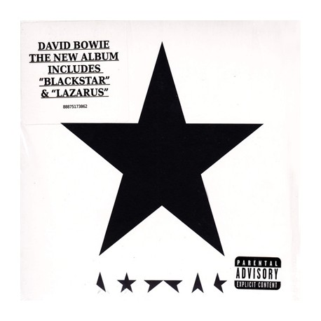 BOWIE David : CD Blackstar