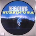 BEACH BOYS (the) : LP Picture Surfin' USA