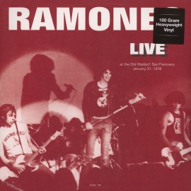RAMONES (the) : LP Live At The Old Waldorf 1978