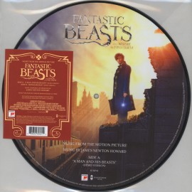 """HOWARD James Newton : 12""""EP Picture Fantastic Beasts And Where To Find Them"""