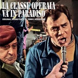 MORRICONE Ennio : LP La Classe Operaia Va In Paradiso
