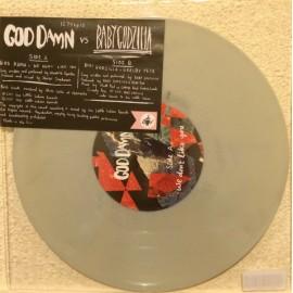 "SPLIT 10""EP GOD DAMN / BABY GODZILLA"