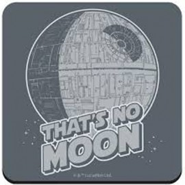 STAR WARS SOUS-VERRE THAT'S NO MOON