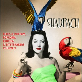 "VARIOUS : 10""LP Shadrach Vol. 9 - Blues & Rhythm, Popcorn, Exotica & Tittyshakers"