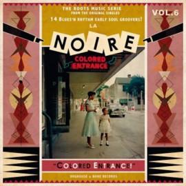 VARIOUS - LA NOIRE : LP Volume 6 Colored Entrance !