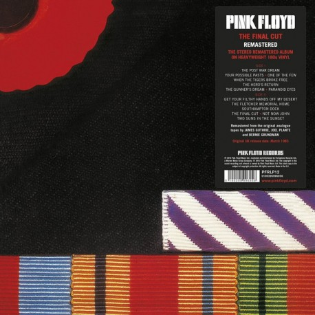 PINK FLOYD : LP The Final Cut