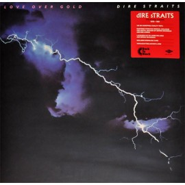 DIRE STRAITS : LP Love Over Gold