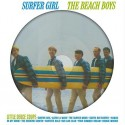 BEACH BOYS (the) : LP Picture Surfer Girl