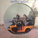 BEACH BOYS (the) : LP Picture Surfin' Safari Plus Candix Recordings