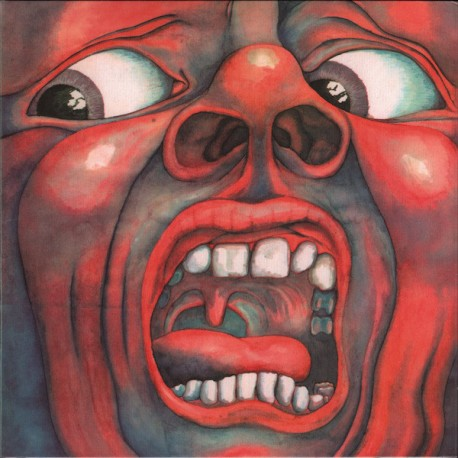 KING CRIMSON : LP In The Court Of The Crimson King