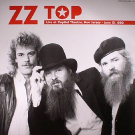ZZ TOP : LP Live At Capitol Theatre New Jersey: June 15 1980