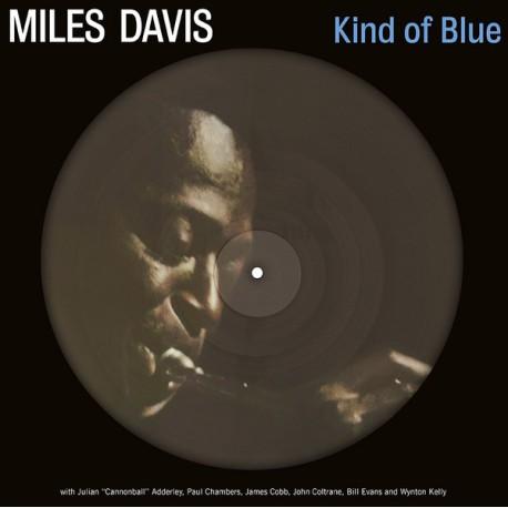 MILES DAVIS : LP Picture Kind Of Blue