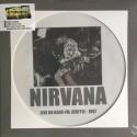 NIRVANA : LP Picture Live On Kaos-FM, Seattle - 1987