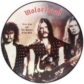 MOTÖRHEAD : LP Picture Iron Fist And The Hordes From Hell