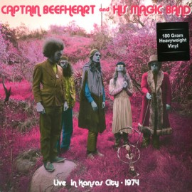 CAPTAIN BEEFHEART : LP Live In Kansas City - 1974