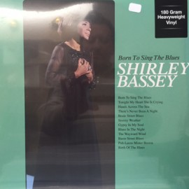 SHIRLEY BASSEY : LP Born To Sing The Blues