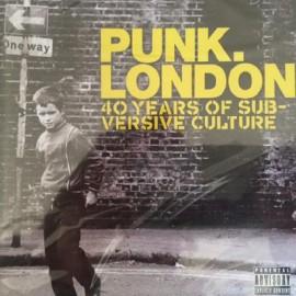 VARIOUS : CD PUNK. LONDON 40 Years of Subversive Culture