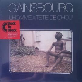 """GAINSBOURG Serge : LP """"L'Homme À Tête De Chou"""""""