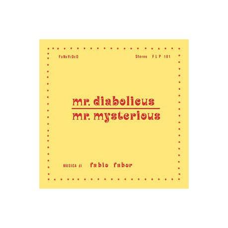 FABIO FABOR : LP+CD Mr.Diabolicus - Mr.Mysterious