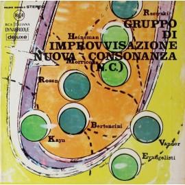 """GRUPPO DI IMPROVVISAZIONE NUOVA CONSONANZA : LP+CD Gruppo Di Improvvisazione """"Nuova Consonanza"""""""