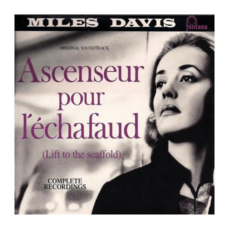 MILES DAVIS : LP Ascenseur Pour L'Echafaud