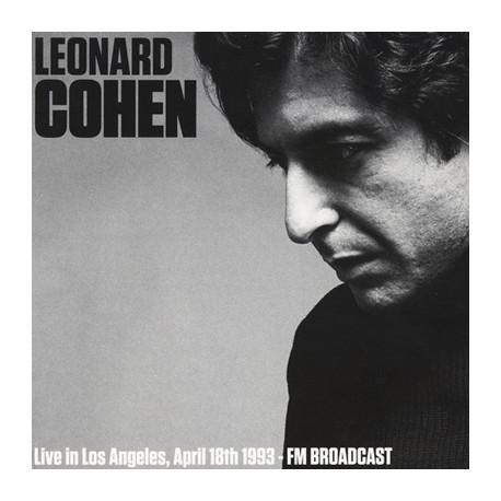 COHEN Leonard : LP Live In Los Angeles, April 18th 1993 - FM Broadcast