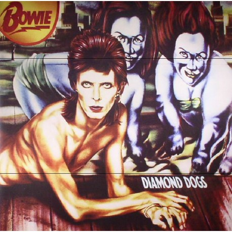BOWIE David : LP Diamond Dogs