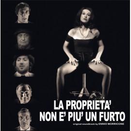 MORRICONE Ennio : LP La Proprieta' Non E' Piu' Un Furto