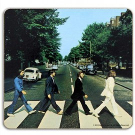 BEATLES (the) SOUS-VERRE : Abbey Road