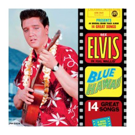 PRESLEY Elvis : LP Blue Hawai
