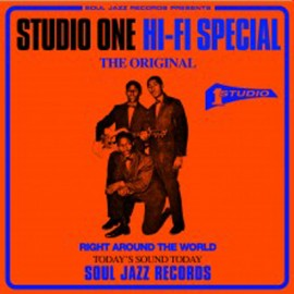 """SOUL JAZZ RECORDS PRESENTS : 7""""EPx5 Studio One Hi-Fi Special 7' collect"""
