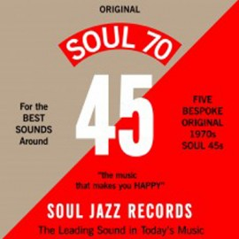 "SOUL JAZZ RECORDS PRESENTS : 7""EPx5 Soul 70 7"" Box Set"