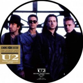 """U2 : 12""""EP Picture Red Hill Mining Town"""