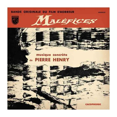 HENRY Pierre : LP Maléfices