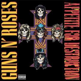 GUNS N' ROSES : LP Appetite For Destruction