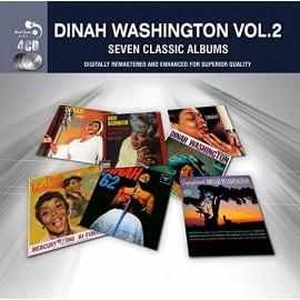 WASHINGTON Dinah : CDx4 7 Classic Albums - Vol. 2