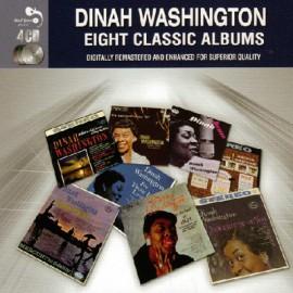 WASHINGTON Dinah : CDx4 Eight Classic Albums