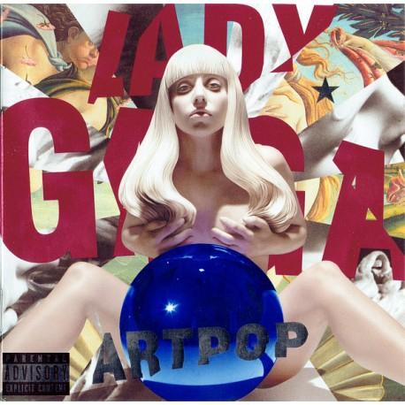 LADY GAGA : CD Artpop
