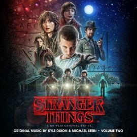 DIXON Kyle & STEIN Michael : LPx2 Stranger Things Vol2 VHS Black