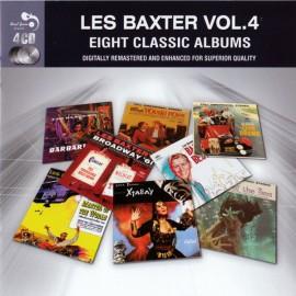 LES BAXTER'S : CDx4 Les Baxter Vol. 4 - Eight Classic Albums