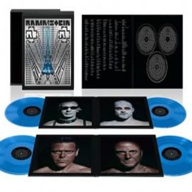 RAMMSTEIN : LPx4+CDx2+Blu-Ray Beluxe Box Set - Paris