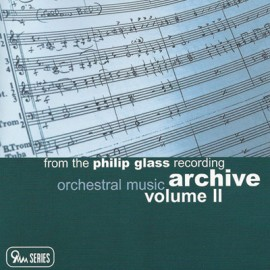 GLASS Philip : CD Orchestral Music