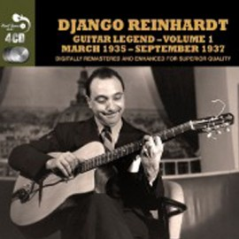 REINHARDT Django : CDx4 Guitar Legend Vol.1