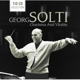SOLTI Georg : CDx10 Charisma And Vitality
