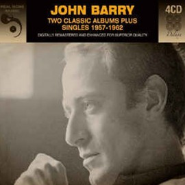 BARRY John : CDx4 Two Classic Albums Plus Singles 1957-1962
